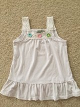 Girls 5/6 Summer Crochet White Top in Aurora, Illinois