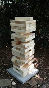 Yard Jenga -  Wood Block Game in Macon, Georgia