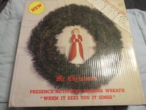 Motion Activated Singing Christmas Wreath - Decorations in Joliet, Illinois