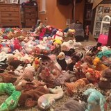Beanie Baby collection in Perry, Georgia