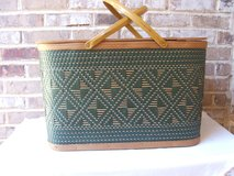 Vintage Picnic Basket in Bartlett, Illinois