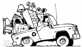 Hillside/Slopes Clean Up / Tree Service /  Moving Services / Trash Hauling Services in Oceanside, California