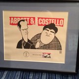 Abbott & Costello stamp 1st day of issue in Chicago, Illinois