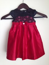 new with tags Red satin dress with tulle lined skirt in 29 Palms, California