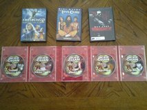3 DVDs & The Jackie Chan 5 DVD  Movie Collection in Camp Lejeune, North Carolina