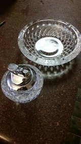 Crystal Ashtray / Lighter Set in Fort Campbell, Kentucky