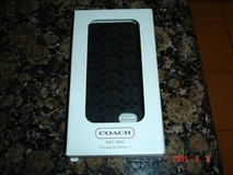 Genuine Coach iphone 5/5s case-New in Kingwood, Texas