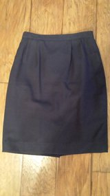 Blue Lined Skirt, Size 6 in Houston, Texas