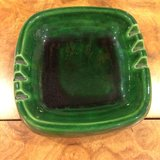 2 vintage green ashtrayS in Joliet, Illinois