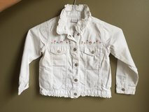 Girls Adorable 5T Jean Jacket in Aurora, Illinois