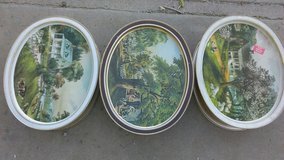 3  large antique tin cans in Alamogordo, New Mexico
