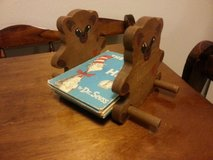 Wooden Vintage Book holder in Lawton, Oklahoma