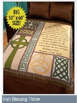 IRISH BLESSING THROW - New - in Tacoma, Washington