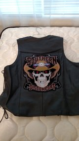 Leather  Motorcycle Vest in Beaufort, South Carolina