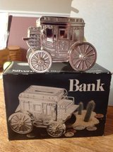 Leonard's Stagecoach Silver plated Bank in Fort Campbell, Kentucky