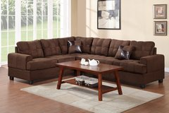 2PC Chocolate Sectional FREE DELIVERY in Camp Pendleton, California