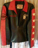 Women's Betty Boop motorcycle jacket in Fort Rucker, Alabama