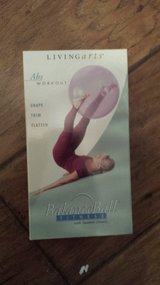 "VHS Tape Entitlted ""Balance Ball Fitness with Suzanne Deason"" in Kingwood, Texas"