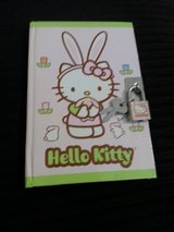 NEW Hello Kitty Diary with lock and 2 keys in Camp Lejeune, North Carolina