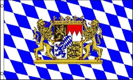 Flag - Bavaria Lion - Oktober Fest - 3' x 5' - Polyester - New in Fort Lewis, Washington