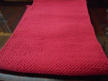 Red Table Runner in Kingwood, Texas