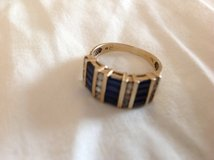 Gold ladies ring synthetic stones in Camp Pendleton, California
