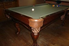 "Connelly San Carlos Pool Table, 7ft standard solid Maple with 1"" slate and Ball in Claw Leg Design in Kingwood, Texas"
