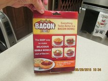 The Perfect Bacon Bowl - (As Advertised On TV)  -  REDUCED! in Kingwood, Texas