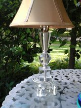 Pretty vintage glass table  lamp in Naperville, Illinois