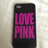 Victoria Secret Love Pink Case for Iphone 5 in Naperville, Illinois
