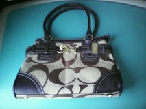 Coach  Signature Jacquard leather sachel  purse in Quantico, Virginia