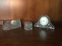 Vintage Crystal Legends by Godinger Desk Set in Aurora, Illinois