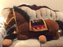 E & J  Classic Royal Giant Soft and Stuffed Plush Horse in Westmont, Illinois
