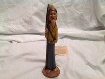 NWT Collectible Pirate Figurine Concept IV Concept Wood Carved Treasure in Kingwood, Texas