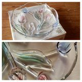 Beautiful Tulip glass candy bowl NEW in Stuttgart, GE