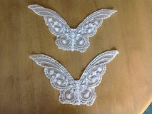 Ivory lace butterfly's to add to wedding dress in Lakenheath, UK