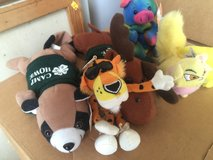 Various little stuff beanie toys 6 in all in Camp Lejeune, North Carolina