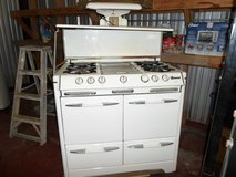Antique vintage gas stove in Spring, Texas