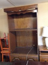 Solid wood tv stand in Fort Polk, Louisiana
