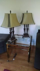Set of two table lamps in Aurora, Illinois