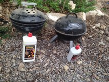 portable grill with starter fluid in Alamogordo, New Mexico