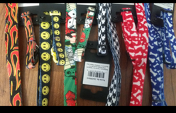 dog collars and leashes (NEW) Reduced in Byron, Georgia