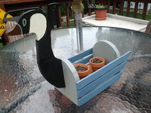 Goose Plant/flower Planter Made by Crafter in St. Charles, Illinois