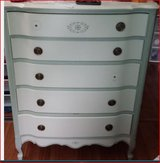 Chest of 5-drawers  Lt wght wood call 630-251-8244 sturdy-must C in St. Charles, Illinois