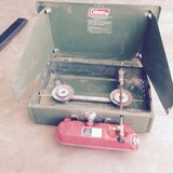 Coleman camping stove in Alamogordo, New Mexico