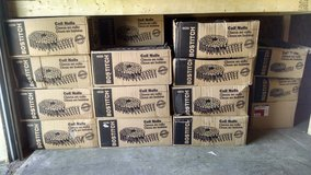 Stanley Bostitch coil nails (22 boxes) Galvanized Diamond tip (Reduced) in Camp Lejeune, North Carolina