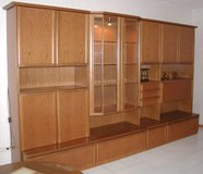 Dining/Living room/China cabinet wall unit in Ramstein, Germany
