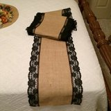 9 Wedding or Event Burlap Table Runners in Baytown, Texas