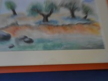 Beautiful Aquarell - no cheap copy! Already framed! in Grafenwoehr, GE