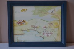 Wendy Bellissimo Framed Dalmation Fire Dog Scene in Plainfield, Illinois
